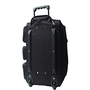 18, 20, 24, 28 , 30 or 34 inch Wheeled Holdall Trolley Travel Bag Luggage on Wheels Black, Navy, Purple, Olive or Pink
