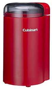 Cuisinart DCG-20NR Coffee Grinder, Red by Cuisinart