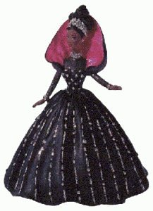 31QFWN835DL Buy  African American Holiday Barbie 1st in Series 1998 Hallmark Ornament QX6936