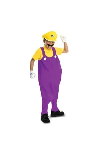 スーパーマリオブラザーズ ワリオ DLX 衣装、コスチューム 子供男性用 TODDサイズ