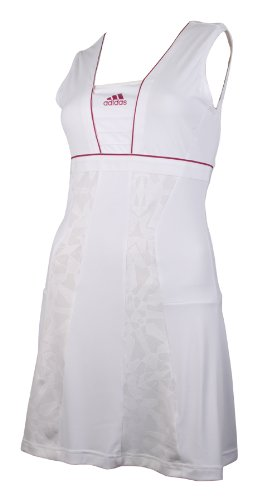 Adidas AL Dress Womens ClimaCool Tennis Dresses Court Sports Training for ladies women white 12