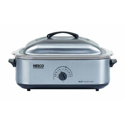Metal Ware Corp. Nesco 18Qt Ss Roaster W/Ss Coo