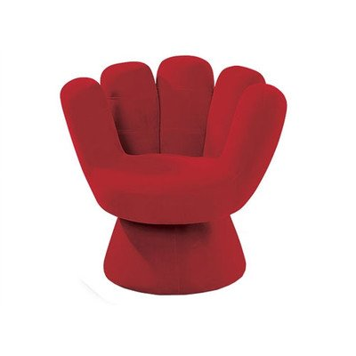 LumiSource Mitt Chair (Red)
