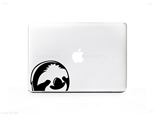 Sloth-Corner-Face-Sticker-Decal-For-MacBook-Pro-PC-Laptop-Window-Car-or-Wall
