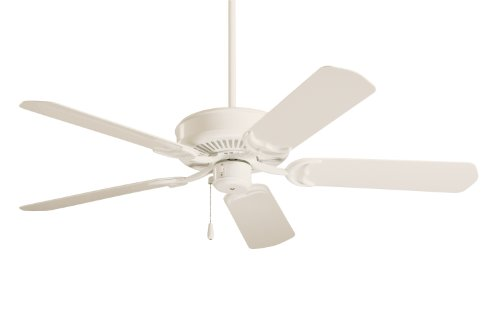 Emerson Cf654Aw Sea Breeze Indoor/Outdoor Ceiling Fan, 52-Inch Blade Span, Summer White Finish And All-Weather Summer White Blades