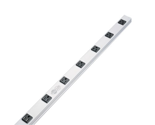 Tripp Lite Ps2408 Power Strip 120V 5-15R 8 Outlet 15Ft Cord Vertical Metal 0Urm