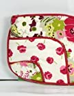 Vera Bradley Patchwork Collection Jazzy Clutch Bag in Make Me Blush