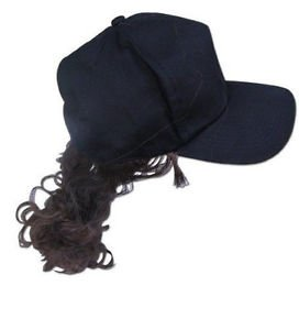 Billy Bob Billy Ray Hat with Brown Hair - 1