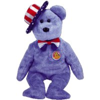 Ty Beanie Babies Founders - Bear (BBOM July 2005)