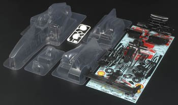1/10 Body Set Ferrari F60: F104