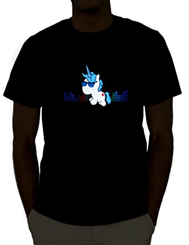 Unicorn Led Shirt (Small)