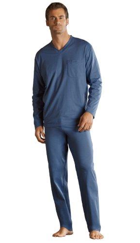New Mens JOCKEY Jersey Stretch Cotton V Neck Pullover Style Long Sleeved Top Pyjama nightwear loungewear. 50025. Available UK Sizes Small Medium Large X-Large 2X-Large 3X-Large