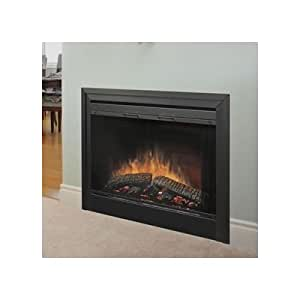 Bundle 33 2 Sided Built In Electric Fireplace 3 Pieces Size 45 Ventless
