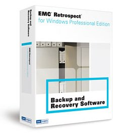 EMC Retrospect 7.5 Professional for Windows Upgrade