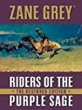 Five Star First Edition Westerns - Riders of the Purple Sage (1594141304) by Zane Grey