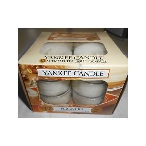 Eggnog Yankee Candle 12 Count Tea Lights