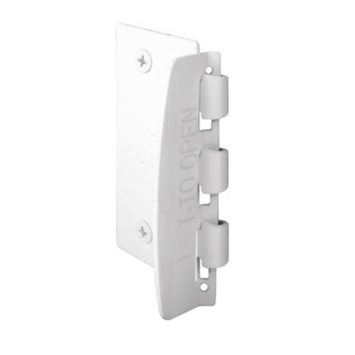Door Flip Lock For Child Safety From Primeline - White Color front-38222