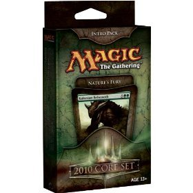 Magic the Gathering- MTG: Magic 2010 Core Set - Theme Deck - Intro Pack Green : Nature's Fury