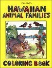 Pat Hall's Hawaiian Animal Families Coloring Book
