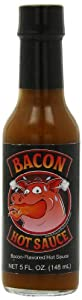Bacon Flavored Hot Sauce, 5 Ounce