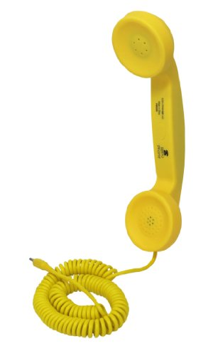 Coco Retro Cell Phone Handset (Yellow)