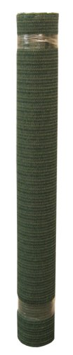 Coolaroo Shade Fabric Heavy 84% to 90% UV Block  6 Feet by 15 Feet Heritage Green