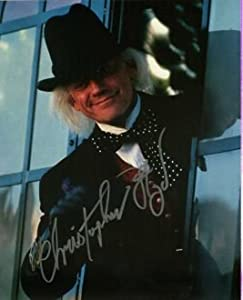 Christopher Lloyd BACK TO THE FUTURE (Private Signing) In Person Autographed Photo #1