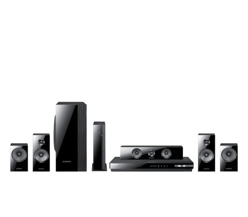 Sale!! Samsung HT-E5500W HTIB 5.1 Channel 3D Blu-ray 1000-Watt Home Theater System