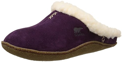 SorelNakiska Slide - Pantofole foderate, calde Donna, Viola (purple dahlia 562), 36