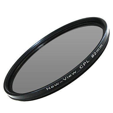 Peach New View Polarizer Filter For Camera(82Mm) , Black