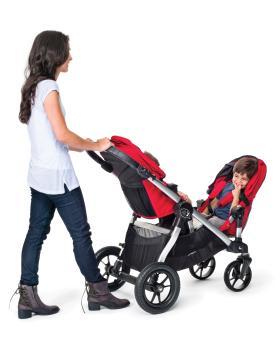 Baby Jogger City Select Silver Frame Stroller Amethyst