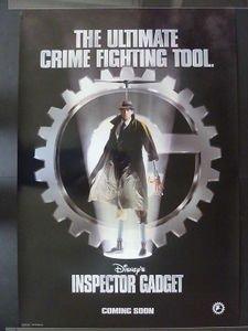INSPECTOR GADGET Movie Poster 1999 Teaser/Matthew Broderick & Rupert