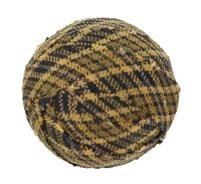 "Tea Cabin Decorative Fabric Ball #3, 1.5"" Diameter, Sold As Set Of 6"