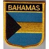Parche Bordado Bandera Bahamas - 7 x 6 cm