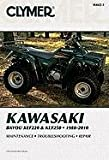 img - for Clymer Kawasaki Bayou KLF220 & KLF250, 1988-2010 (Clymer Motorcycle Repair) book / textbook / text book