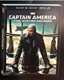 Captain America: The Winter Soldier - Exclusive Nick Fury Sleeve (Blu-Ray 3D + Blu Ray + Digital HD Digital Copy)
