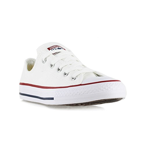 Converse Unisex Child Tod/Yth Chuck Taylor All Stars - White - 12 TOD