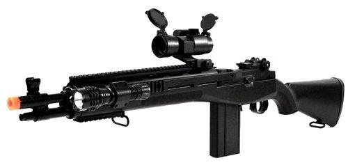 m14 airsoft gun: 400 FPS AGM M14 SOCOM RIS High-Powered