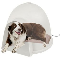 K&H Large Igloo Heated Pet Bed