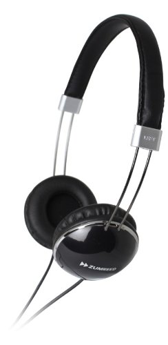 Zumreed Zhp-300 Slim Wire Headband Stereo Headphones, Black