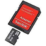 8GB , Standard Packaging : SanDisk 8GB SDHC Flash Memory Card- SDSDQB-008G-B35
