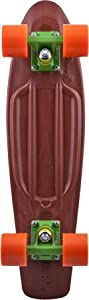 Penny Organic Complete Skateboard, 22-Inch, Brown/Green/Orange from Eastern Distribution
