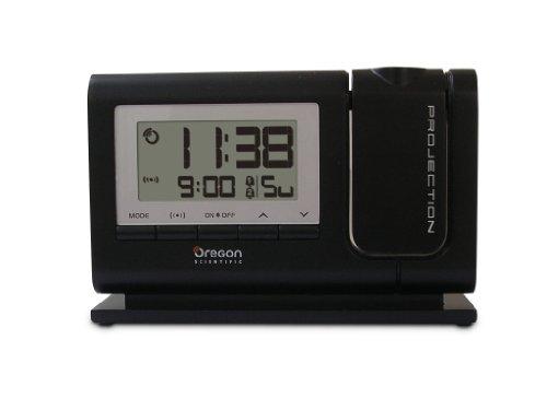 Oregon Scientific RM308P Orologio con proiezione e doppio allarme sveglia, Nero