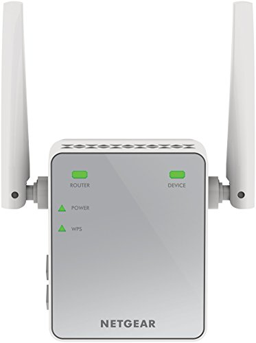 Netgear EX2700 Ripetitore Wireless Universale, N300 Mbps, Fast Ethernet, 2 Antenne Esterne, Argento
