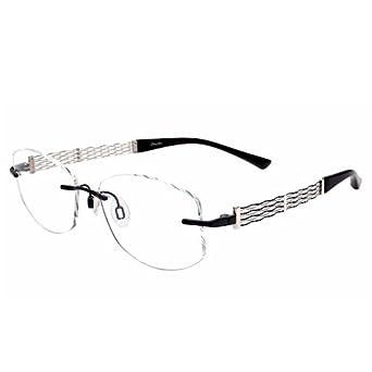 777081b5d4 Charmant Purple Rimless Eyeglasses