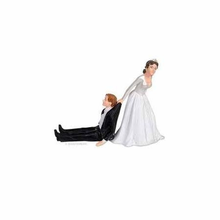 Reluctant Groom Cake Topper by Accoutrements - 11993 WLM