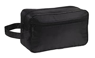 Cheapest Toiletry Cosmetics Travel Bag, Black by BAGS FOR LESSTM from Budget Bags Inc - Free Shipping Available