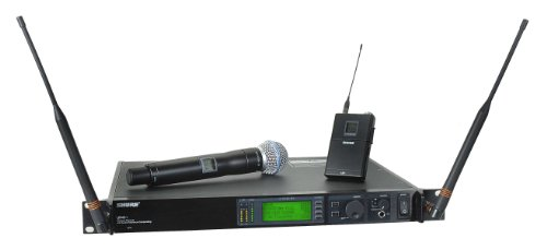 Shure Ur124S/Beta58 Combo Wireless System, J5