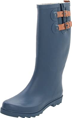 Chooka Women's Top Solid Teal Boot,Teal,6 M US