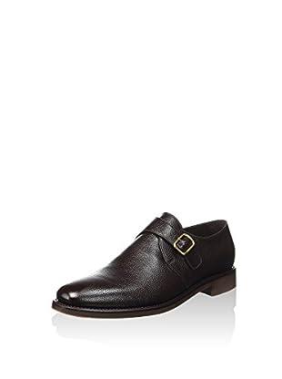 George's Zapatos Monkstrap Hebilla (Marrón Oscuro)